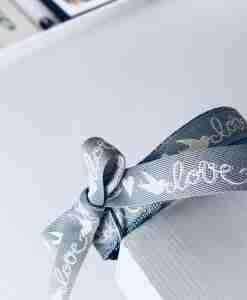 Scrufts' Valentine's Dog Collar Lovebirds