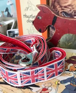 Scrufts Union Jack Dog Lead By Jingo
