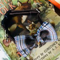 Scrufts' Sydney Velvet Dog Bow Tie