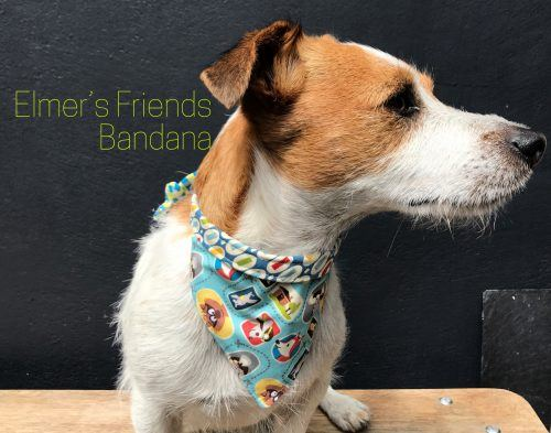 Elmer's Friends Reversible Dog Bandana