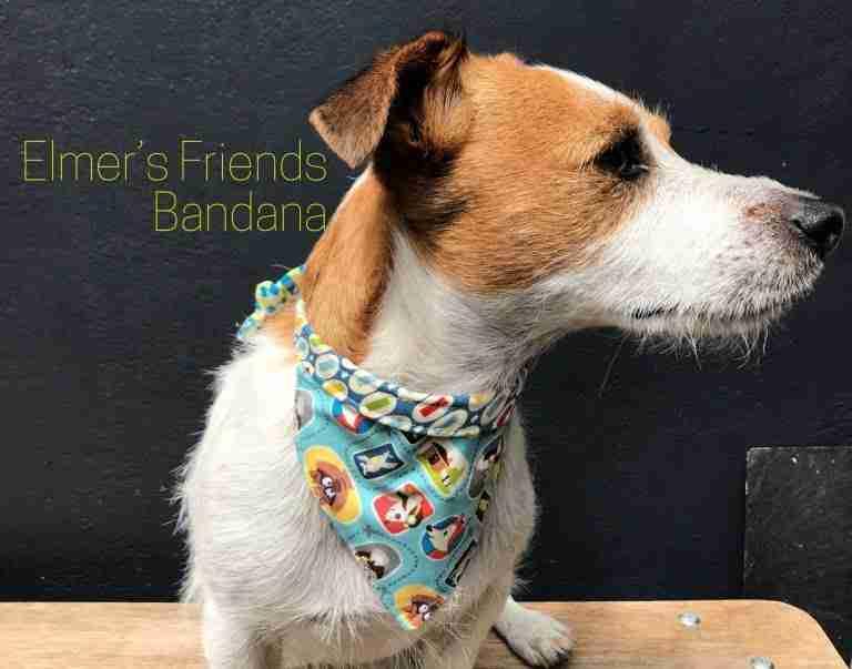 Elmer's Friends Reversible Dog Bandana