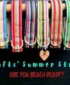 Scrufts Striped Dog Collars and Leads