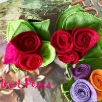 Detachable Floral Posies