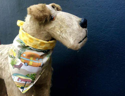 Scrufts Vintage Caravan Reversible Dog Bandana