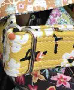 Scrufts' Mikado Floral Dog Collar in Yellow