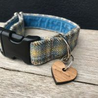 Scrufts Harvest Donegal Tweed Dog Collar