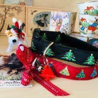Scrufts Christmas Tree Christmas Dog Collar