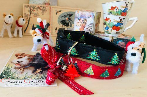 Scrufts Christmas Tree Christmas Dog Collar