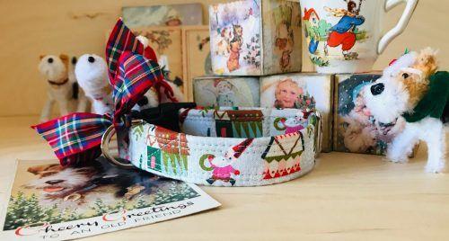 Scrufts Nutcracker Christmas Dog Collar