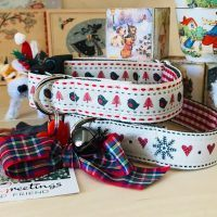 Scrufts Skandi Christmas Dog Collars