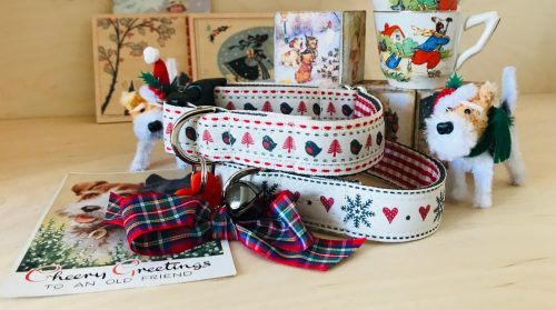 Scrufts Skandi Christmas Dog Collars