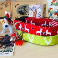 Scrufts Reindeer Christmas Dog Collars