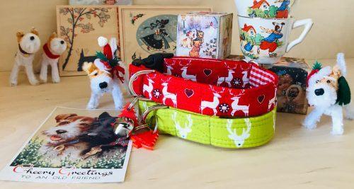 Scrufts Reindeer Christmas Dog Collars