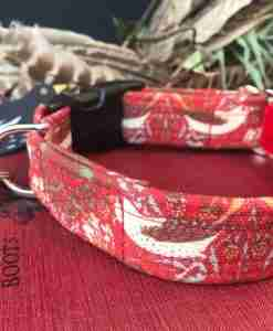 Scrufts William Morris Strawberry Thief Dog Collar