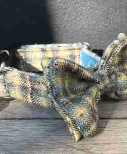 Scrufts Harvest Donegal Tweed Dog Bow Tie