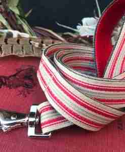 Scrufts Strawberry Thief Striped Lead