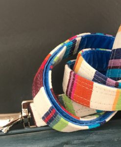 Scrufts Brighton Rocks Striped Dog Lead with Velvet Lining