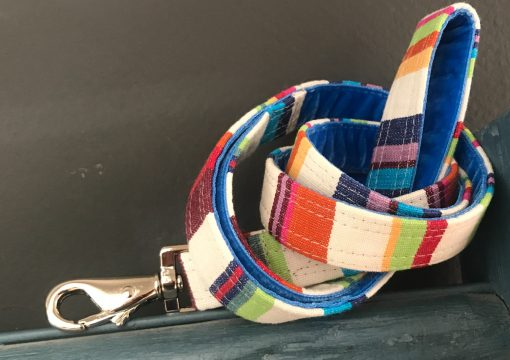 Scrufts Brighton Rocks Striped Dog Lead with Velvet Lining