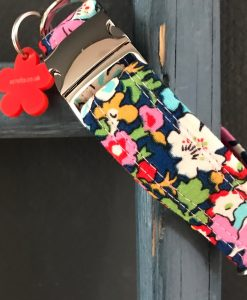 Scrufts Meadow Liberty Dog Collar with Velvet Lining