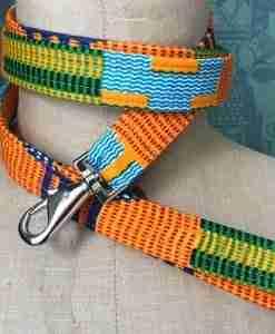 Scrufts Nairobi African Wax print Dog Lead