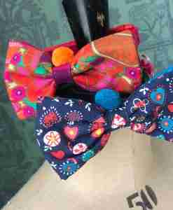 Scrufts Mr & Mrs Punch Bow Tie Dog Collar