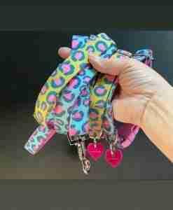 Scrufts Funky Leopard Print Dog Collar
