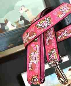 Scrufts' Captain Gracie Velvet Lined Dog Lead